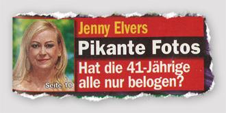 Jenny Elvers - Pikante Fotos - Hat die 41-Jährige alle nur belogen?