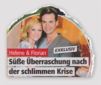 Exklusiv - Helene & Florian - Süße Überraschung nach der schlimmen Krise