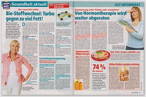 Der neue Kilo-Killer - Bio-Stoffwechsel: Turbo gegen zu viel Fett!