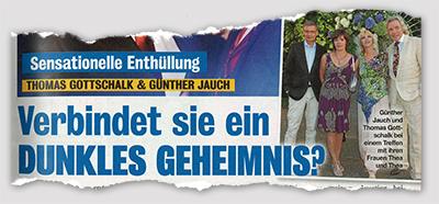 Sensationelle Enthüllung - Thomas Gottschalk & Günther Jauch - verbindet sie ein dunkles Geheimnis?
