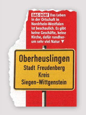 Das Dorf - Das Leben in der Ortschaft in Nordrhein-Westfalen ist beschaulich. Es gibt keine Geschäfte, keine Kirche, dafür rundherum sehr viel Natur