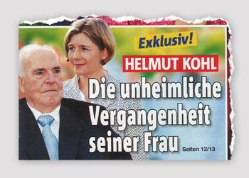 Exklusiv! Helmut Kohl - Die unheimliche Vergangenheit seiner Frau