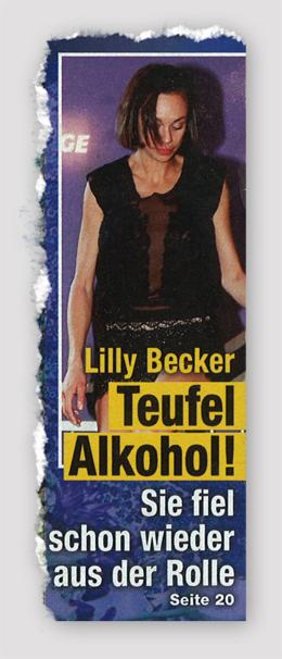Lilly Becker - Teufel Alkohol! Sie fiel schon wieder aus der Rolle