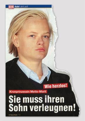 Wie herzlos! Kronprinzessin Mette-Marit - Sie muss ihren Sohn verleugnen!