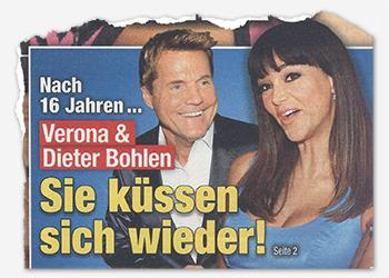 Nach 16 Jahren ... Verona & Dieter Bohlen - Sie küssen sich wieder!