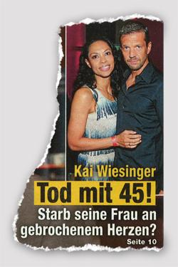 Kai Wiesinger - Tod mit 45! Starb seine Frau an gebrochenem Herzen?