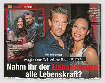Kai Wiesinger - Tragischer Tod seiner Noch-Ehefrau - Nahm ihr der Liebeskimmer alle Lebenskraft?