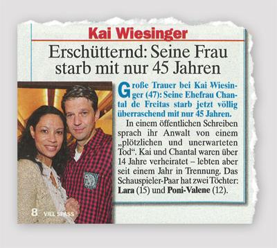 Kai Wiesinger - Erschütternd: Seine Frau starb mit nur 45 Jahren