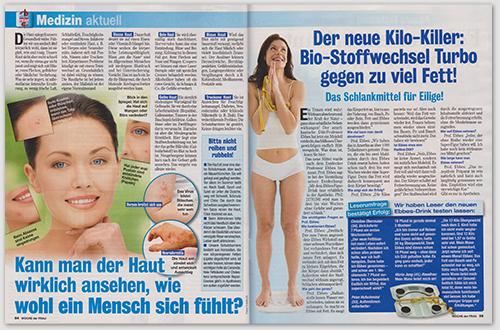 Der neue Kilo-Killer: Bio-Stoffwechsel Turbo gegen zu viel Fett! Das Schlankmittel für Eilige!