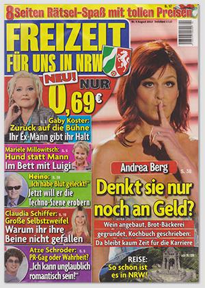 """""""Freizeit für uns in NRW"""", Nr. 4/2013"""