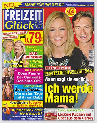 """""""Freizeit Glück"""", Nr. 8/2013"""