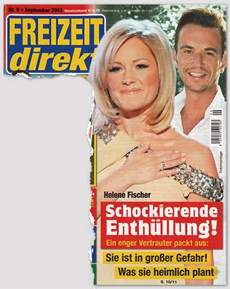 Helene Fischer - Schockierende Enthüllung! Ein enger Vertrauter packt aus: Sie ist in großer Gefahr! Was sie heimlich plant
