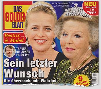 Beatrix & Mabel - Trauer um Johan Friso (†) - Sein letzter Wunsch - Die überraschende Wahrheit
