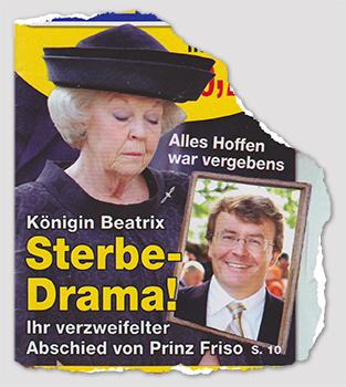 Alles Hoffen war vergebens - Königin beatrix - Sterbe-Drama! - Ihr verzweifelter Abschied von Prinz Friso