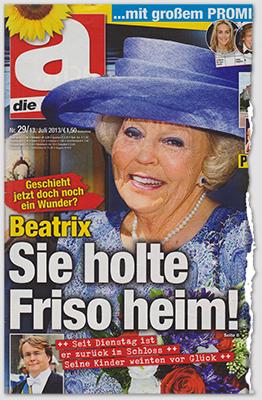 Geschieht jetzt doch noch ein Wunder? - Beatrix - Sie holte Friso heim! - Seit Dienstag ist er zurück im Schloss - Seine Kinder weinten vor Glück