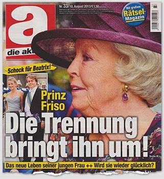 Schock für Beatrix! - Prinz Friso - Die Trennung bringt ihn um! - Das neue Leben seiner jungen Frau ++ Wird sie wieder glücklich?