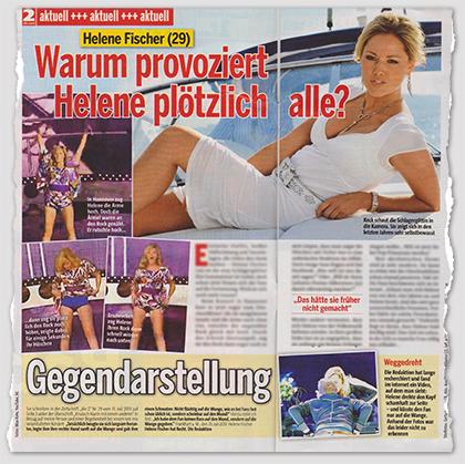 """Ausriss: """"die zwei"""", Nr. 33/2013"""