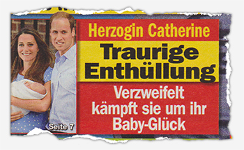 Herzogin Kate - Traurige Enthüllung - Verzweifelt kämpft sie um ihr Baby-Glück