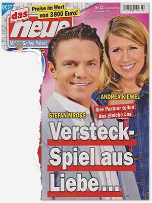 Stefan Mross - Andrea Kiewel - Ihre Partner teilen das gleiche Schicksal - Versteck-Spiel aus Liebe ...