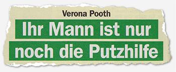 Verona Pooth - Ihr Mann ist nur noch die Putzhilfe