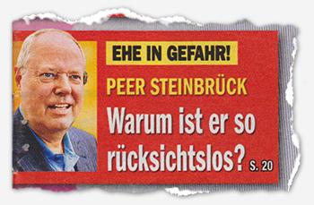 Ehe in Gefahr! - Peer Steinbrück - Warum ist er so rücksichtslos?