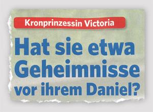 Kronprinzessin Victoria - Hat sie etwa Geheimnisse vor ihrem Daniel?