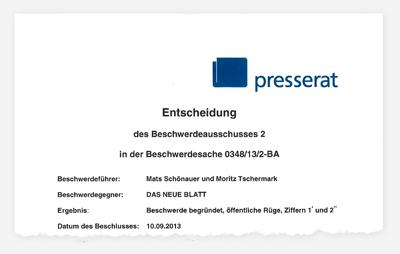 "Rügen ""Das neue Blatt"""