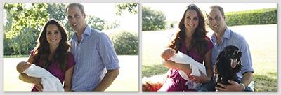 Offizielles Familienfoto von Kate und William