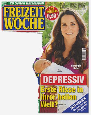 Herzogin Kate - Depressiv - Erste Risse in ihrer heilen Welt?