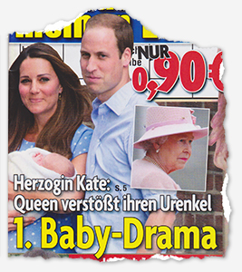 Herzogin Kate: Queen verstößt ihren Urenkel! - 1. Baby-Drama