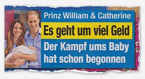 Prinz William & Catherine - Es geht um viel Geld - Der Kampf ums Baby hat schon begonnen