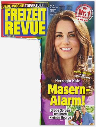 Herzogin Kate - Masern-Alarm! - Große Sorge um ihren kleinen George