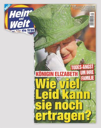 König Elizabeth - Todes-Angst um ihre Familie - Wie viel Leid kann sie noch ertragen?