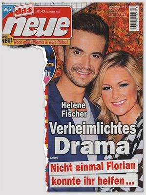Helene Fischer - Verheimlichtes Drama - Nicht einmal Florian konnte ihr helfen ...