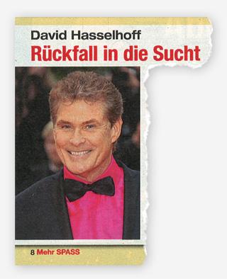 David Hasselhoff - Rückfall in die Sucht