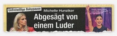 Unfreiwillige Babypause - Michelle Hunziker - Abgesägt von einem Luder