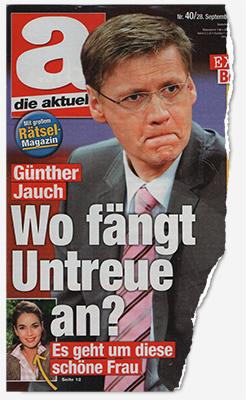 Günther Jauch - Wo fängt Untreue an? Es geht um diese schöne Frau