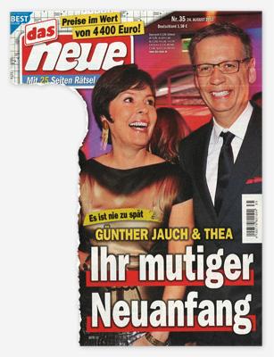 Es ist nie zu spät - Günther Jauch & Thea - Ihr mutiger Neuanfang