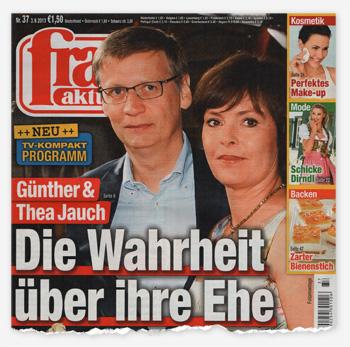 Günther & Thea Jauch - Die Wahrheit über ihre Ehe