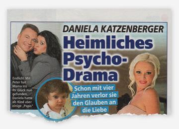 Daniela Katzenberger - Heimliches Psycho-Drama - Schon mit vier Jahren verlor sie den Glauben an die Liebe