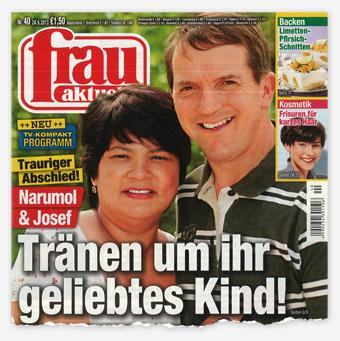 Trauriger Abschied! Narumol & Josef - Tränen um ihr geliebtes Kind!