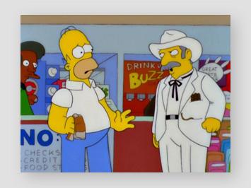 Texaner nimmt Homers Duell-Aufforderung an