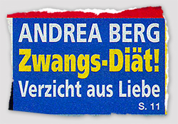 Andrea Berg - Zwangs-Diät! - Verzicht aus Liebe