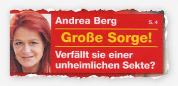 Andrea Berg - Große Sorge! Verfällt sie einer unheimlichen Sekte?