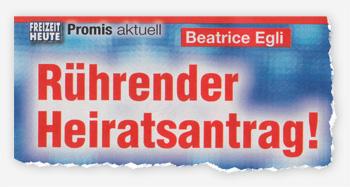 Beatrice Egli - Rührender Heiratsantrag!