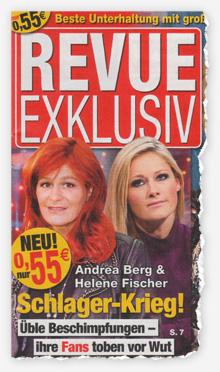 Andrea Berg & Helene Fischer - Schlager-Krieg! Üble Beschimpfungen - ihre Fans toben vor Wut