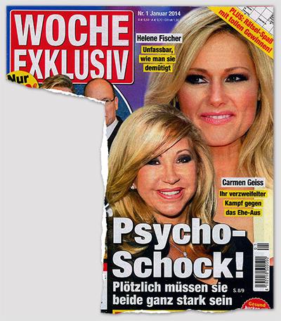 Helene Fischer - Unfassbar, wie man sie demütigt - Carmen Geiss - Ihr verzweifelter Kampf gegen das Ehe-Aus - Psycho-Schock! Plötzlich müssen sie ganz stark sein