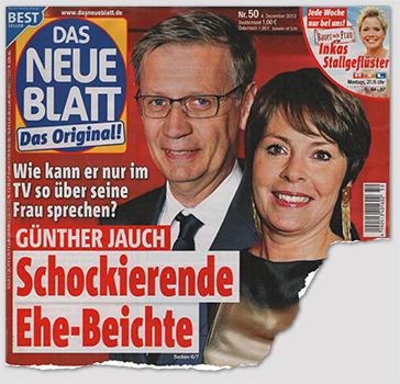 Wie kann er nur im TV so über seine Frau sprechen? - Günther Jauch - Schockierende Ehe-Beichte