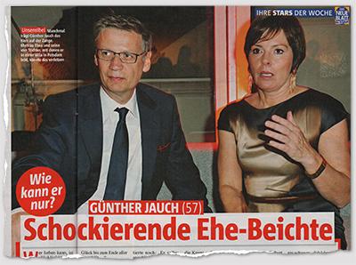 Wie kann er nur? - Günther Jauch - Schockierende Ehe-Beichte