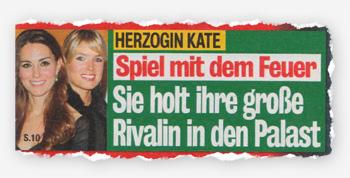 Herzogin Kate - Spiel mit dem Feuer - Sie holt ihre große Rivalin in den Palast